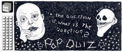 #03 /// The question is what is the question